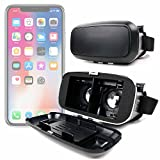 DURAGADGET Padded 3D Virtual Reality VR Headset Glasses - Compatible with the Apple