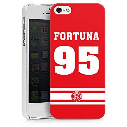 Apple iPhone X Silikon Hülle Case Schutzhülle Fortuna Düsseldorf Fanartikel Fortuna F95 Hard Case weiß