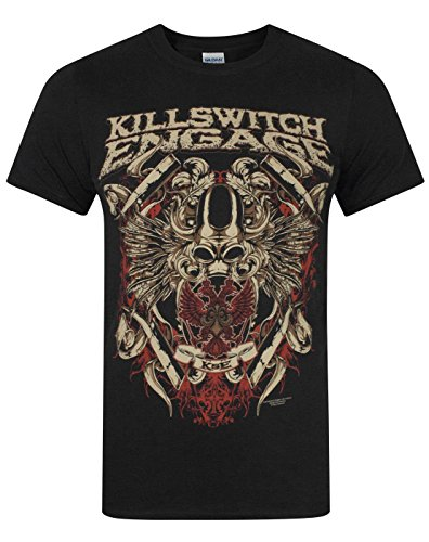 T Shirt Killswitch Engage Bio War (Nero) - Small