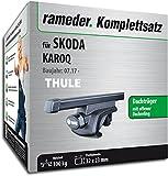 Rameder Komplettsatz, Dachträger SquareBar für SKODA KAROQ (116010-38149-1)