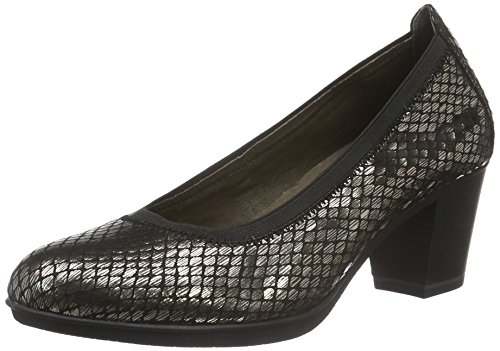 Tamaris Damen 22436 Pumps, Grau (Platinum Stru. 949), 40 EU