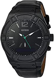 Mens Guess Connect Bluetooth Hybrid Smartwatch Alarm Watch C0001G5