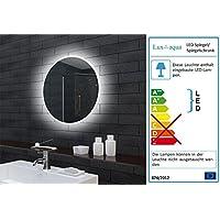 Badezimmerspiegel Badspiegel Wandspiegel LED Beleuchtung Rund 60cm MLE6602