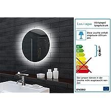 Spiegel mit beleuchtung rund  Suchergebnis auf Amazon.de für: badspiegel rund