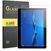 ELTD - Protección de pantalla de cristal templado para Huawei MediaPad M3Lite 10