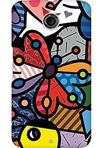 AMEZ designer printed 3d premium high quality back case cover for Motorola Nexus 6 (art)