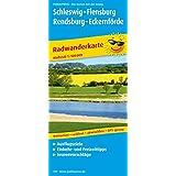 Radwanderkarte Schleswig - Flensburg - Rendsburg - Eckernförde: Mit Ausflugszielen, Einkehr- & Freizeittipps, reissfest, wetterfest, abwischbar, GPS-genau. 1:100000