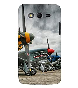Cartoon Planes 3D Hard Polycarbonate Designer Back Case Cover for Samsung Galaxy Grand 2 :: Samsung Galaxy Grand 2 G7105 :: Samsung Galaxy Grand 2 G7102