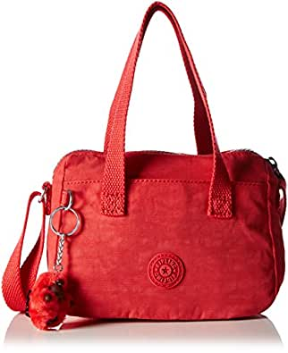 Kipling Womens Leike Shoulder Bag Poppy Red: Amazon.co.uk