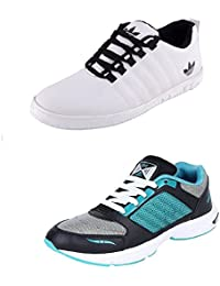 Jabra Perfect Combo Of 2 Shoes- Sneakers And Loafers In Various Sizes