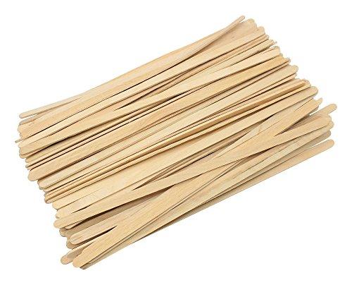 Rührstäbchen aus Holz, für Küche, Zuhause, Büro, Zubehör für Kaffee und Tee 7.5Inch-bulk-100PCS