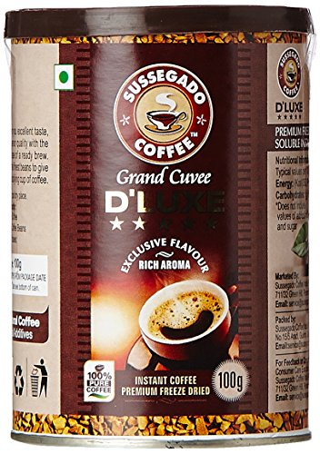 D'LUXE Freeze Dried Instant Coffee, 100g
