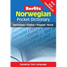Berlitz: Norwegian Pocket Dictionary: Norwegian-English = Engelsk-Norsk (Berlitz Pocket Dictionary)