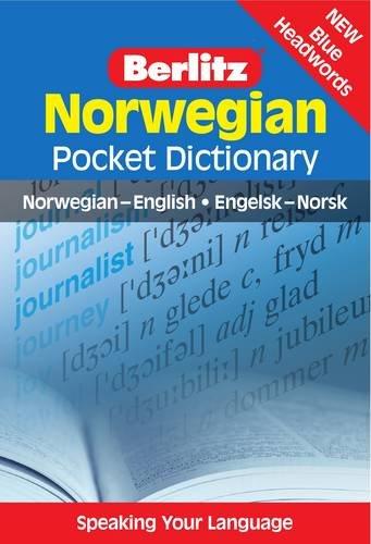 Berlitz: Norwegian Pocket Dictionary: Norwegian-English = Engelsk-Norsk (Berlitz Pocket Dictionary)