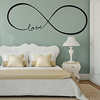 Adesiviamo - 706 the Love Infinity Vinyl Wall Decals Stickers