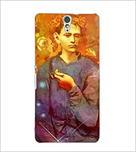 PrintDhaba Painted image D-3897 Back Case Cover for SONY XPERIA C5 ULTRA (Multi-Coloured)