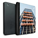 STUFF4 PU Pelle Custodia/Cover/Caso Libro per Apple iPad 2/3/4 tablet / Barbecue/BBQ / Giù Sotto disegno
