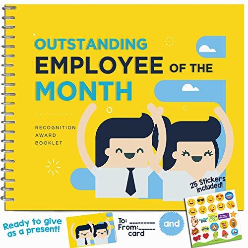 Personal con excelente regalo-reconocimiento premio folleto-Cool Ideas para el mejor empleado en la oficina. Regalos para mundos mejor compañero, trabajador o personal.