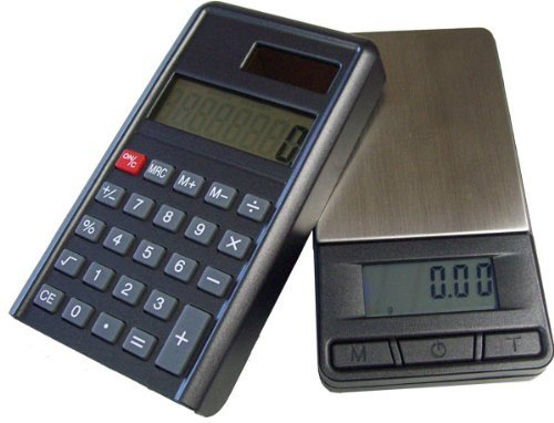 200 G / 0,01 G Precision Scales Pocket Scales PC &Calculator (2-in - 1 Digital Scales Kitchen Scales Coin Scales / Gold Scales / G &G