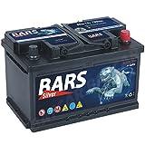 Bars Silver Autobatterie 12V 80Ah 730A Starterbatterie Wartungsfrei