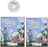 Eventi, narrazione, storia. Con Strumenti per una didattica inclusiva. Per la Scuola media. Con ebook. Con espansione online. Con DVD-ROM: 3