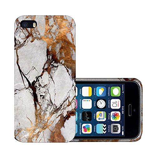 Levanpro Coque Dessin de Marbre Slim Coque Housse Etui Hard Case Imprimer Cristal pour iphone SE/5s/5 B