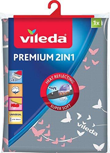Vileda Premium 2 1 - Funda planchar, tres
