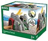 BRIO World 33481 Magischer Tunnel - Eisenbahnzubehör für die BRIO Holzeisenbahn - Kleinkinderspielzeug mit Effekten empfohlen für Kinder ab 3 Jahren