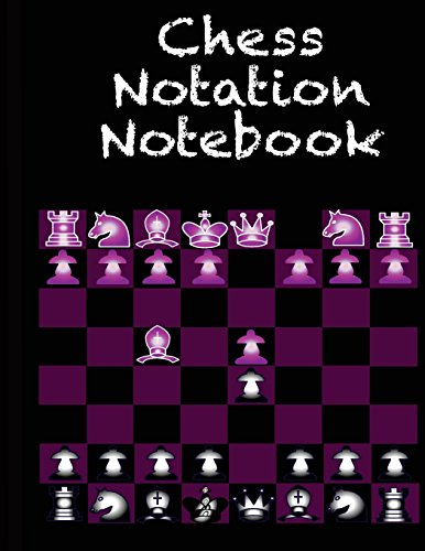 Chess Notation Nodebook: The Essential Scorebook for Scorekeeing Moves & Recording Strategies For Self Development por Prefect Press
