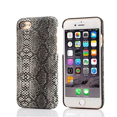 Apple iphone 7 plus 5.5 inch custodia protettiva case, originale design imitato pelle di serpente aspetto serie vari colori magro leggera bella dura cover