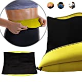 Cenblue Hot Shapers ter bel kemeri, Hot ince ve fitness düz karın neopren Body şekillendirici Wrap Yoga Fitness firma Korse ter Workout Thermo Wear selülitin Anti bel Trainer kemer