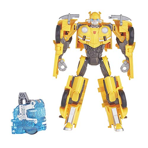 Transformers Bumblebee Movie Toys, Energon Igniters Nitro Bumblebee Action Figure Included Core Powers Driving Action Toys for Kids 6 and Up, 7 Inch
