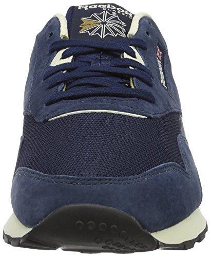 Reebok Classic Nylon P, Sneakers Basses Homme Bleu (Collegiate Navy/Pprwht/Antique Copper/Black)