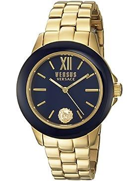Versus  Damen -Armbanduhr  Analog  Quarz Stahl SCC060016