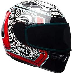 BELL Qualificateur Tagueur Joint Casque Moto - Rouge Blanc Noir, XL