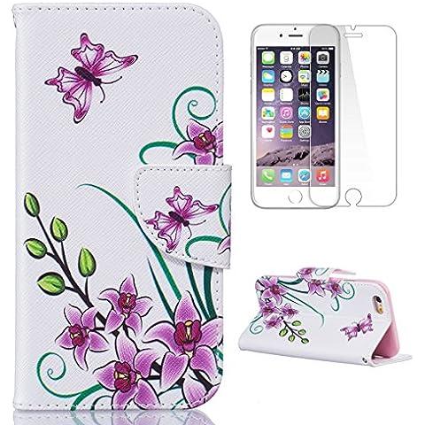 CaseHome alta qualità PU Cuoio iPhone 6/6S