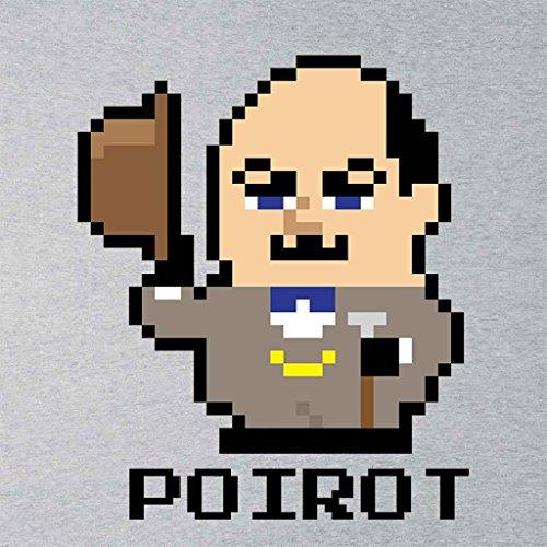 Hercule Poirot Pixel Character Women's Vest Heather Grey