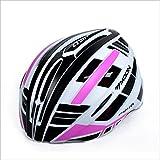 Beruf Bike Helm, verstellbarer Sport Radsport Helm Fahrrad Fahrradhelme für Road & Mountain Biking, Motorrad für Erwachsene Männer & Frauen, Jugend - Racing, Safety Protection ( Farbe : Purple L )