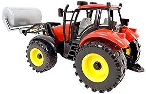 Wonder Kids Wonderkids-a1400095-Vehículo Miniatura-Simple Modelo-Tractor y Accesorios, Colores Aleatoire