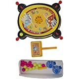 Aaryan Enterprise 2 in 1 Action Shooter Thrilling Basketball Game and Pom Pom shooter