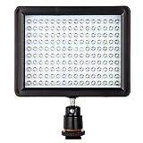 Andoer® 160 LED lampada di pannello 12W 1280LM dimmerabile per Canon Nikon Pentax DSLR Video Camcorder immagine