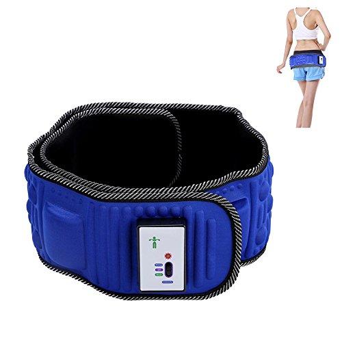 Masaje eléctrico Vibración masaje de pérdida de peso de vibración 5 Motores que adelgaza cinturón de masaje para cadera, espalda y área abdominal