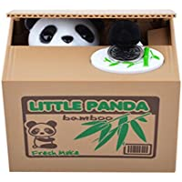 【UNTIL YOU】Juguete Robar Dinero Hucha con Sonido Gato Coger Moneda del Tablero Divertido