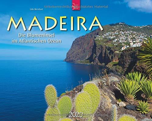 Madeira - Die Blumeninsel im Atlantischen Ozean: Original Stürtz-Kalender 2020 - Großformat-Kalender 60 x 48 cm