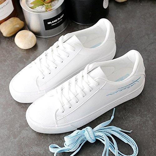 Wuyulunbi@ La molla scarpe scarpe bianco Prynne
