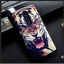 "PREVOA LG V10 - Colorful Silicona TPU 3D Touch Funda Cover Case Protictive para LG V10 - Smartphone 5.7"" pulgadas - 7"