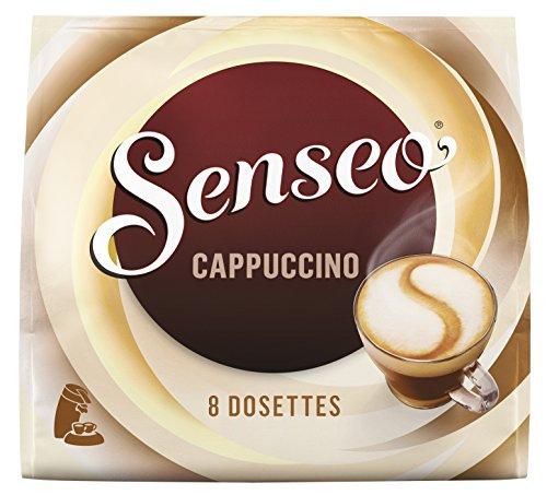 SENSEO Café Cappuccino 8 dosettes souples - Lot de 5 (40 dosettes)