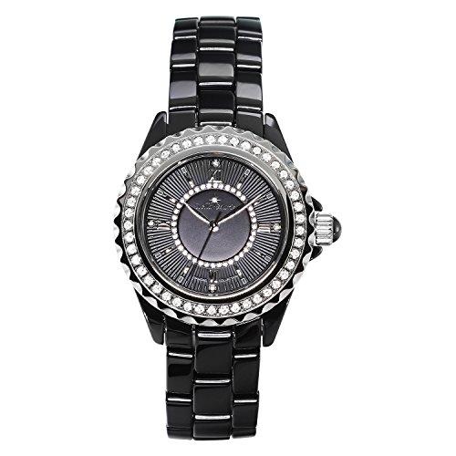 Stella Maris - STM15E1 - Montre Femme - Cadran Noir - Bracelet Céramique Noir