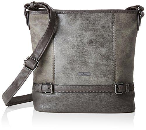 TOM TAILOR für Frauen Taschen & Geldbörsen Hobo-Tasche Juna Grey, OneSize