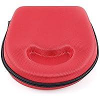 DURAGADGET Estuche / Carcasa Para Los Auriculares Sennheiser HD 25-1 | HD 25-1 II Adidas Originals - En Color Rojo